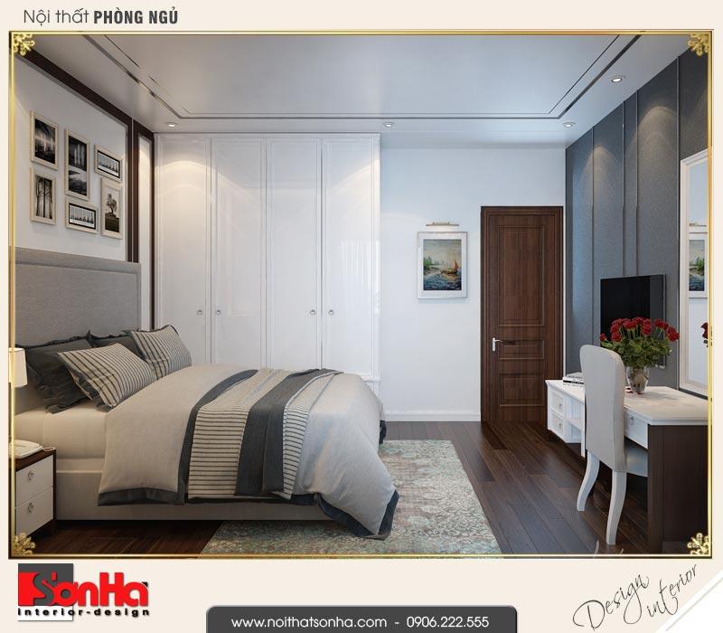 8 Mẫu nội thất phòng ngủ bố mẹ nhà ống hiện đại 4 tầng tại hải phòng sh nod 0187