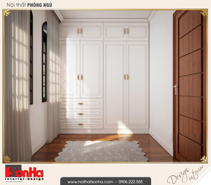 9 Mẫu nội thất khu thay đồ phòng ngủ 2 biệt thự tân cổ điển khu đô thị vinhomes hải phòng vhi 0003