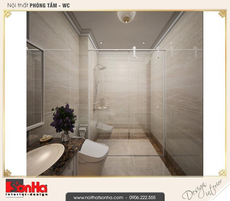 9 Mẫu nội thất phòng tắm wc nhà ống cổ điển 4 tầng tại hà nội sh nop 0169
