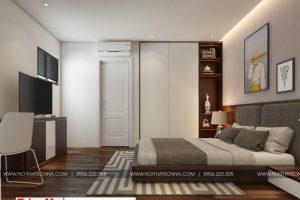 10 Mẫu nội thất phòng ngủ hiện đại 4 đẹp căn hộ cho thuê tại hải phòng
