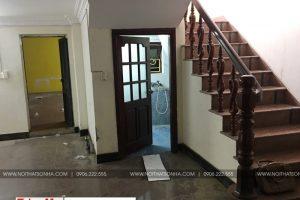 11 Ảnh thực tế cải tạo nội thất biệt thự tân cổ điển tại hải phòng