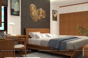 11 Mẫu nội thất phòng ngủ 6 nhà ống tân cổ điển 3 tầng đẹp tại sài gòn sh nop 0174