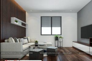 11 Thiết kế nội thất phòng khách hiện đại căn hộ cho thuê tại hải phòng