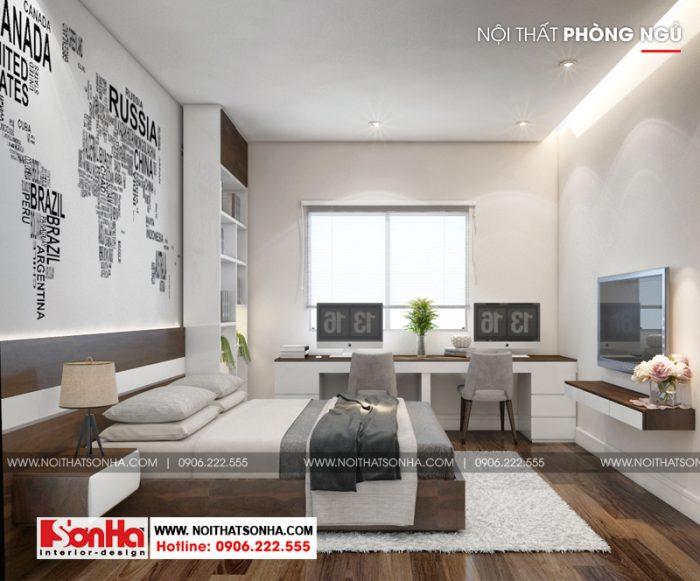 Cách bố trí phòng ngủ thể hiện được cá tính của chủ sở hữu căn phòng