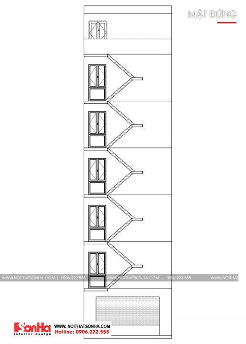 14 Mặt đứng căn hộ hiện đại cho thuê tại hải phòng