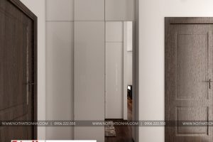 14 Thiết kế nội thất khu thay đồ phòng ngủ hiện đại 3 biệt thự đơn lập khu đô thị waterfront hải phòng sh wfc 004