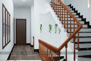 14 Thiết kế nội thất sảnh thang nhà ống tân cổ điển mặt tiền 6,7m tại sài gòn sh nop 0174