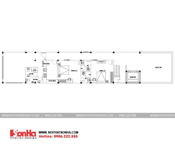 15 Mặt bằng tầng 1 căn hộ cho thuê tại hải phòng