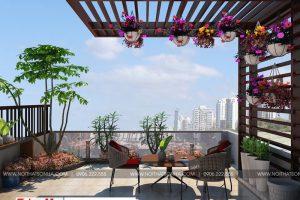 16 Thiết kế nội thất tiểu cảnh sân vườn tại hải phòng