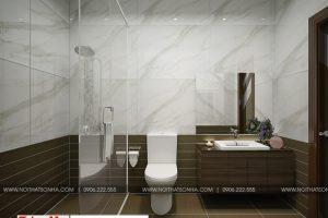 17 Mẫu nội thất phòng tắm wc hiện đại đẹp tại hải phòng