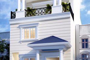18 Thiết kế nội thất nhà ống phong cách tân cổ điển tại sài gòn sh nop 0174