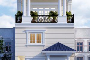 19 Mẫu thiết kế nội thất nhà ống tân cổ điển mặt tiền 6,7m tại sài gòn sh nop 0174