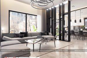3 Mẫu nội thất phòng khách hiện đại biệt thự đơn lập khu đô thị waterfront hải phòng sh wfc 004