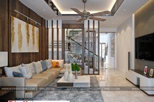 3 Thiết kế nội thất phòng khách hiện đại tại hải phòng