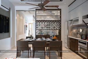 4 Mẫu nội thất phòng bếp ăn hiện đại tại hải phòng
