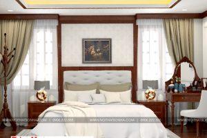 5 Mẫu nội thất phòng ngủ 1 biệt thự tân cổ điển đẹp tại hải phòng
