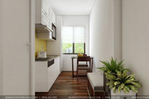 5 Thiết kế mẫu phòng ngủ hiện đại 2 căn hộ cho thuê tại hải phòng