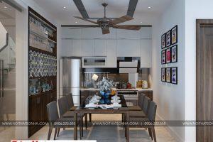 5 Thiết kế nội thất phòng bếp ăn hiện đại đẹp tại hải phòng