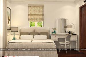 6 Thiết kế nội thất phòng ngủ 2 biệt thự tân cổ điển tại hải phòng
