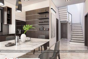 6 Thiết kế nội thất sảnh thang đẹp biệt thự đơn lập khu đô thị waterfront hải phòng sh wfc 004