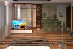 7 Mẫu nội thất phòng ngủ 2 nhà ống tân cổ điển pháp đẹp tại sài gòn sh nop 0174