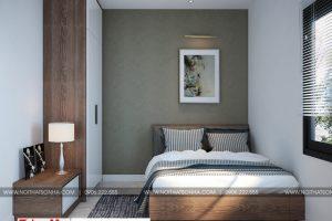 7 Thiết kế nội thất phòng ngủ 1 hiện đại tại hải phòng