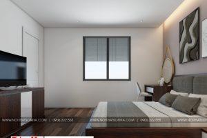 7 Thiết kế nội thất phòng ngủ hiện đại 3 đẹp căn hộ cho thuê tại hải phòng