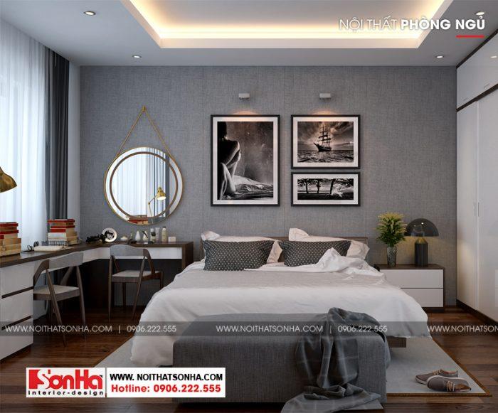 Thiết kế phòng khách hiện đại nhỏ xinh sắp xếp nội thất đơn giản