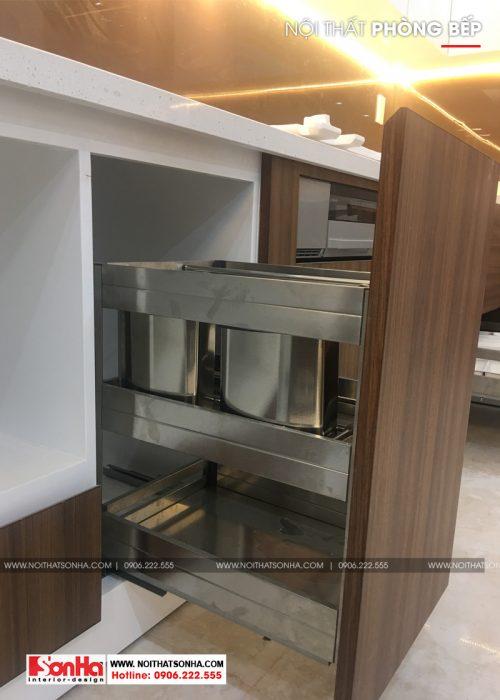 8 Mẫu thi công nội thất tủ bếp đẹp tại hải phòng