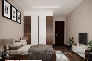 9 Mẫu nội thất phòng ngủ 4 nhà ống tân cổ điển mặt tiền 6,7m tại sài gòn sh nop 0174