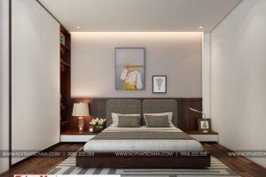 9 Thiết kế nội thất phòng ngủ hiện đại 4 căn hộ cho thuê tại hải phòng