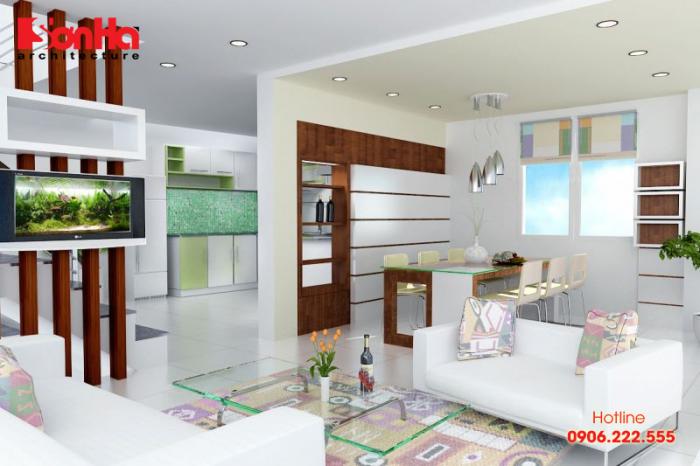 Bạn nên chọn những tông màu trung tính cho tường và nội thất của căn bếp