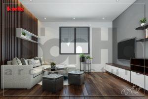 BÌA thiết kế nội thất hiện đại căn hộ cho thuê tại hải phòng