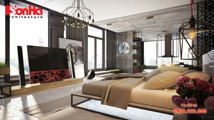 Cách bố trí phòng ngủ master đẹp đến từng tiểu tiết thiết kế và vật liệu
