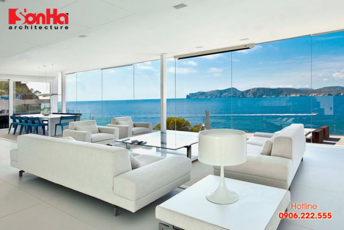 Căn hộ được trang trí cảm hứng từ phong cách nội thất ven biển (Coastal style)