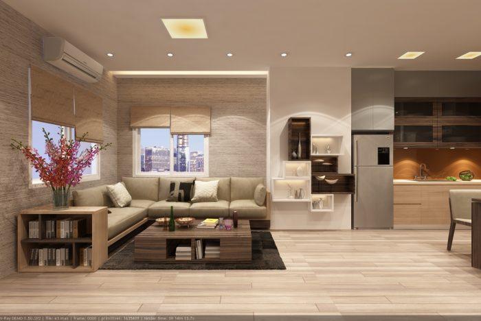 Có thể sử dụng chất liệu gốm sứ đồ trang trí nội thất phòng khách hiện đại