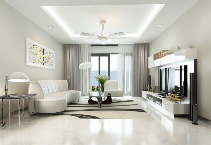 Không nên dùng màu vàng hay nâu cho thiết kế nội thất theo mệnh Thủy