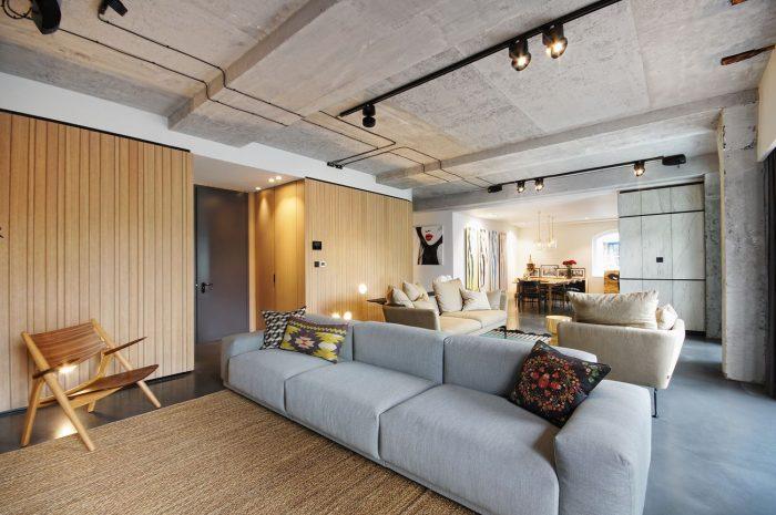 Màu xanh thiên thanh sự lựa chọn hoàn hảo nội thất phòng khách mệnh Thủy