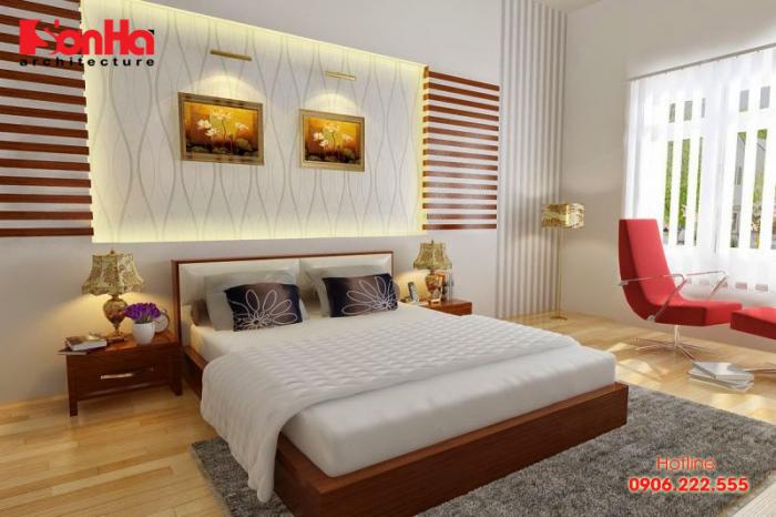 Phòng ngủ khép kín là phong được thiết kế nhà vệ sinh và nhà tắm nằm bên trong