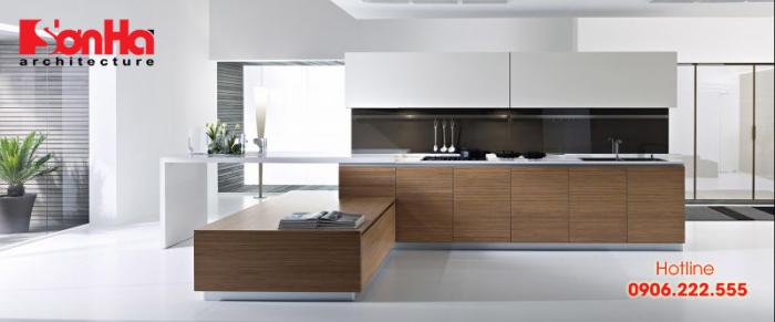 Tên gọi tủ bếp nhựa laminate bắt nguồn từ bề mặt dán laminate là một loại nhựa