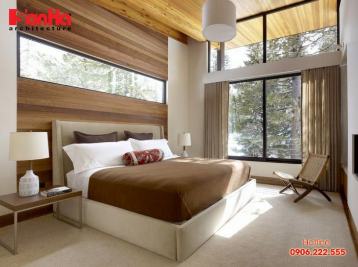 Thêm một phương án thiết kế phòng ngủ khép kín phong cách đương đại