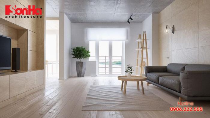 Thêm một ví dụ cho việc thiết kế nội thất phong cách tối giản