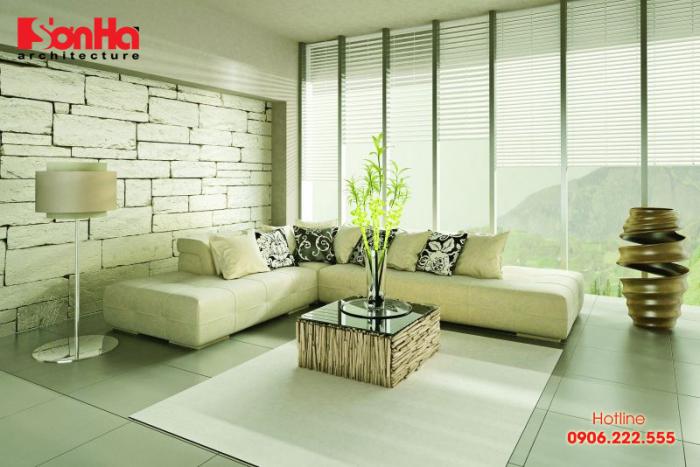 Thiết kế phòng khách ấn tượng phong cách Tropical của miền nhiệt đới