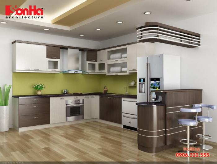 Việc nắm rõ cấu tạo của tủ bếp giúp bạn có lựa chọn đúng cho cách trang trí bếp
