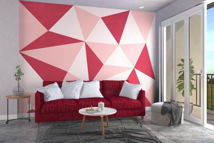 Với phòng khách mệnh Hỏa bạn có thể sử dụng đồ nội thất làm từ gỗ hoặc đá