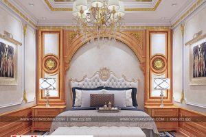 10 Mẫu nội thất phòng ngủ vip tân cổ điển khu đô thị Senturia Vườn lài An Phú Đông Sài Gòn