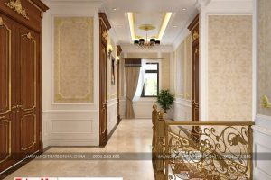 12 Mẫu nội thất sảnh thang tân cổ điển khu đô thị Senturia Vườn lài An Phú Đông Sài Gòn