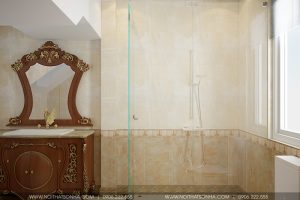 14 Mẫu nội thất phòng tắm wc tân cổ điển khu đô thị Senturia Vườn lài An Phú Đông Sài Gòn