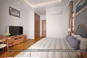 16 Thiết kế nội thất phòng ngủ 4 biệt thự tân cổ điển tại hà nội sh btp 0132