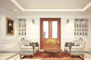 17 Mẫu nội thất phòng sinh hoạt chung biệt thự tân cổ điển đẹp tại hà nội sh btp 0132